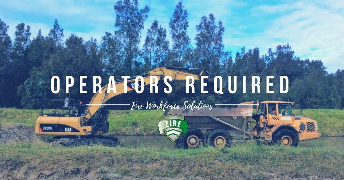 Excavator Operator – Sunshine, Melbourne – Immediate Start